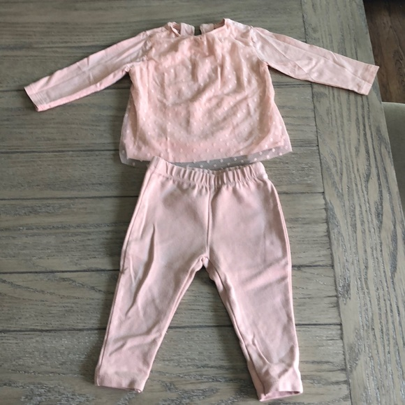 NWOT Zara baby cute outfit size 12-18 months